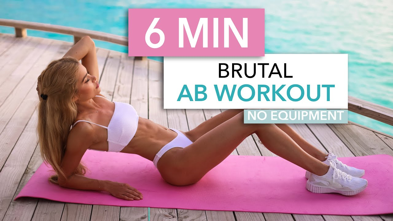 30-Minute Bodyweight Ab Workout - A Sweat Life